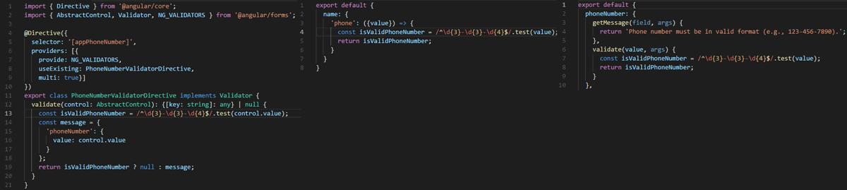 Angular vs  React vs  Vue (Part V: Form Validation) | Rhymed Code